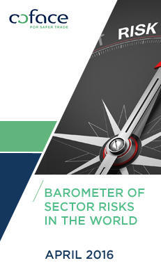 "Discover our new publication ""Barometer of sector risks - April 2016"""