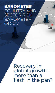 "Discover our new publication ""Country and sector risk Barometer Q3 2017 - Global growth recovery: a real or a false start?"""