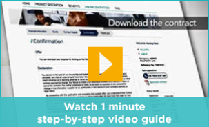 Watch 1 minute step-by-step video guide
