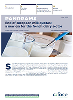 End of european milk quotas: a new era for the french dairy sector