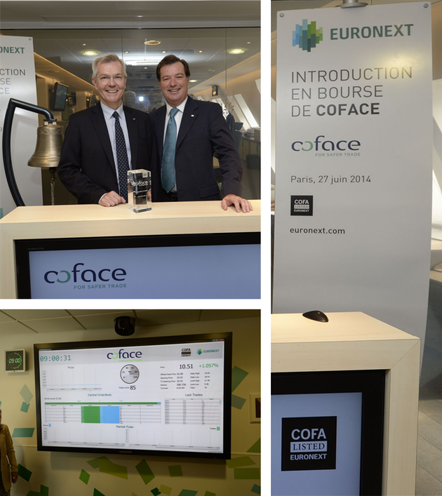 Success of the Coface IPO